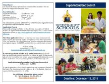 Superintendent Search Brochure