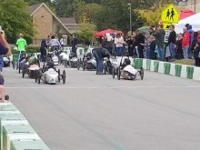 Whitsburg 90s Cars Racing at Saturday's Race
