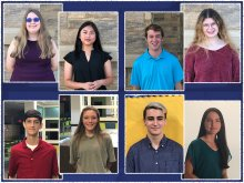 2021 National Merit Semifinalists Headshots in Collage