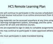 Watch Secondary Education Remote/Virtual Learning...