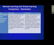 Watch Elementary Education Remote/Virtual Learning...